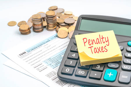 IRS reduces under-withholding penalty